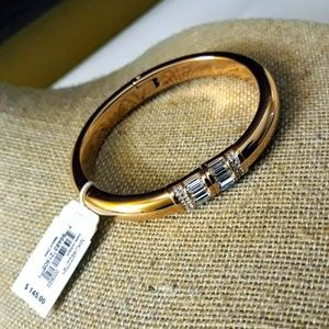 Authentic Michael Kors Rose Gold Bangle